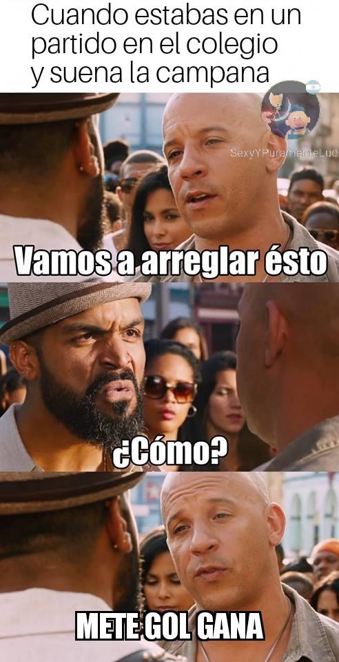 GOL DE ORO - meme