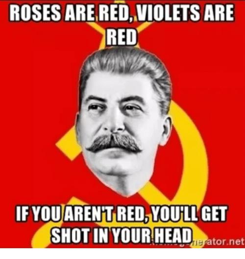 communism is a sniper - meme