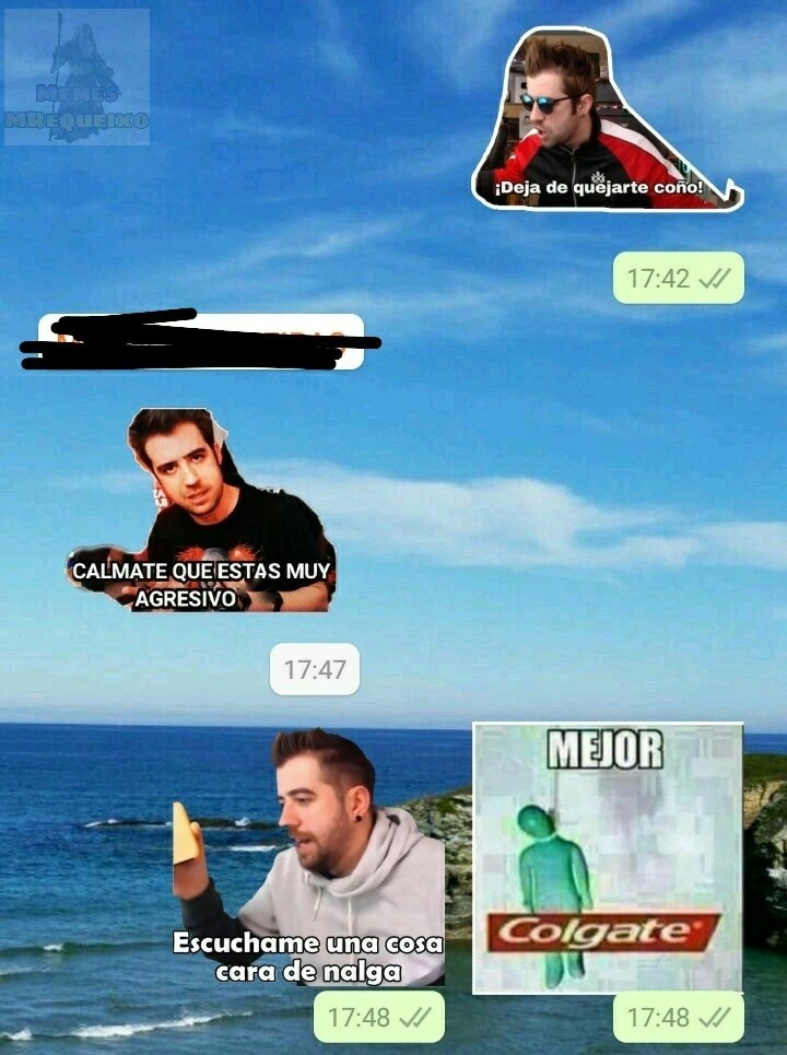 Conversación normal - meme