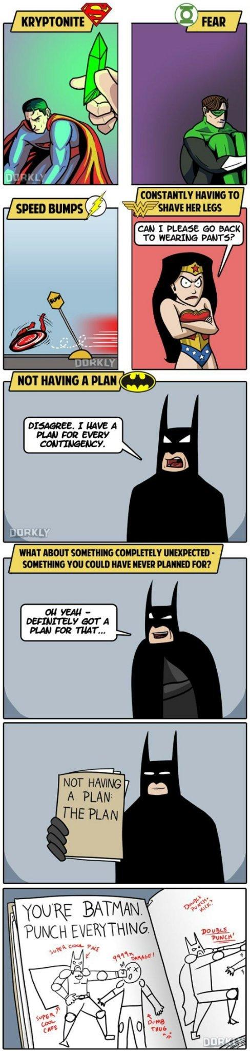 Because I'm Batman - meme