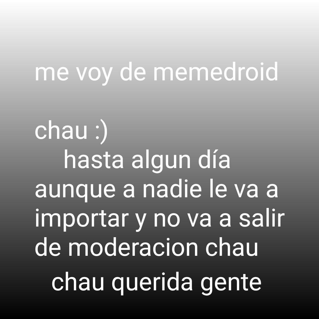 Chau :') - meme