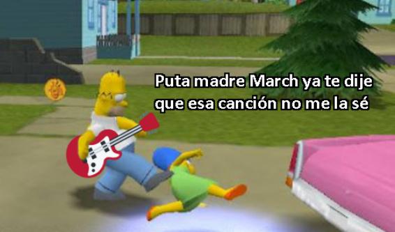 homero guitarrista - meme