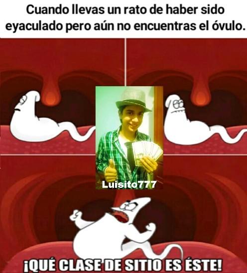 Patricio cum - meme