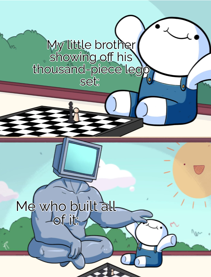 Your welcome lil bro - meme