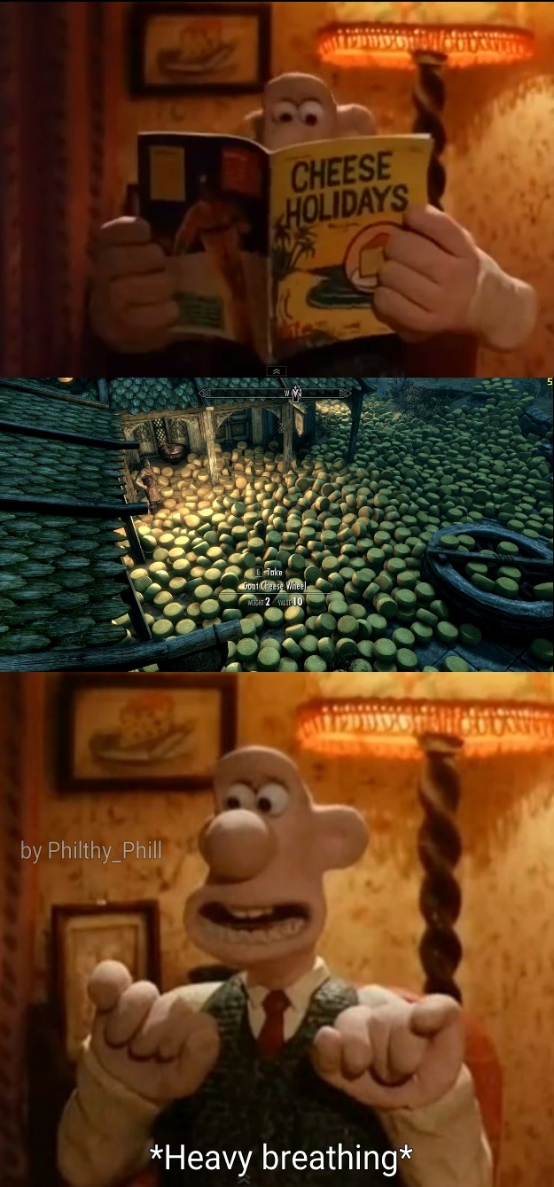Cheese, Gromit! - meme