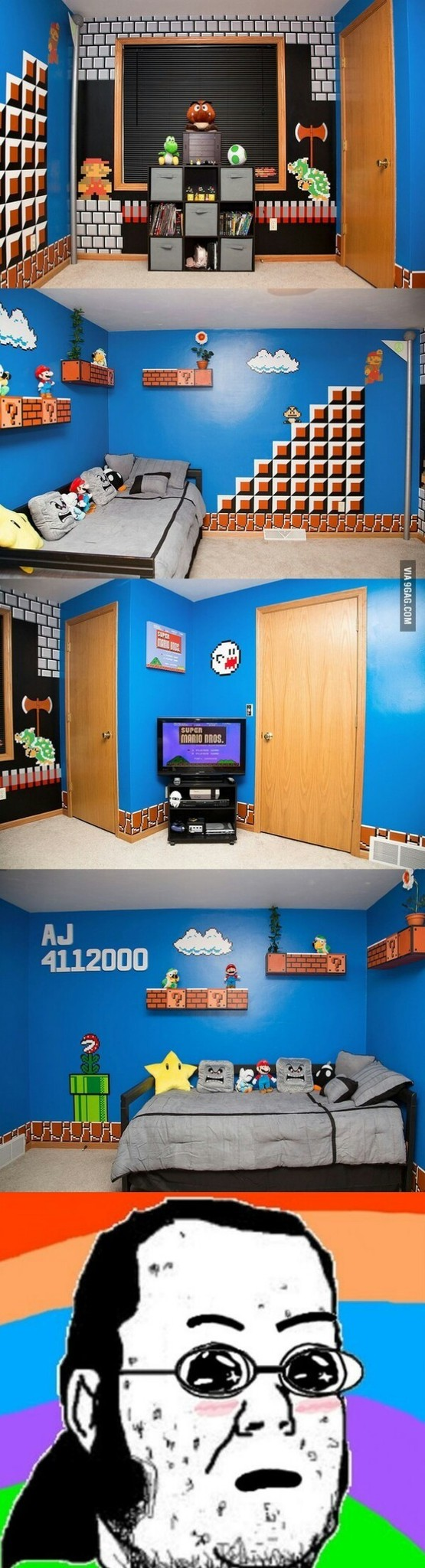 La habitacion de mis sueños - meme