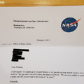 Declined by NASA
