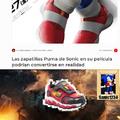 Para el que no entienda:Las zapatillas le dan velocidad a sonic
