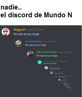 No sea wn po Jorge - meme