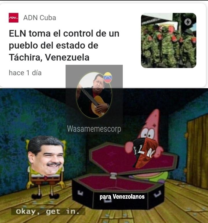 Hermanos esqueletos tomemos las armas y expulsemos las escorias colombianas - meme