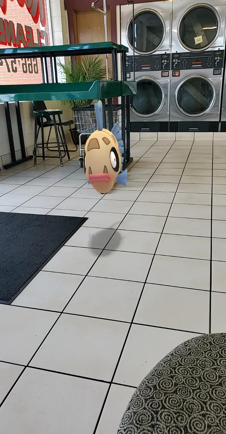 Laundromat feebas - meme