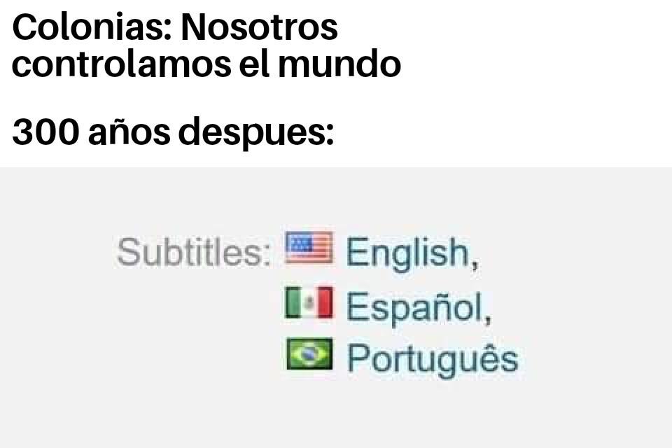 Con razón todos los grindowns creen que todos los que hablan español son mexichangos - meme