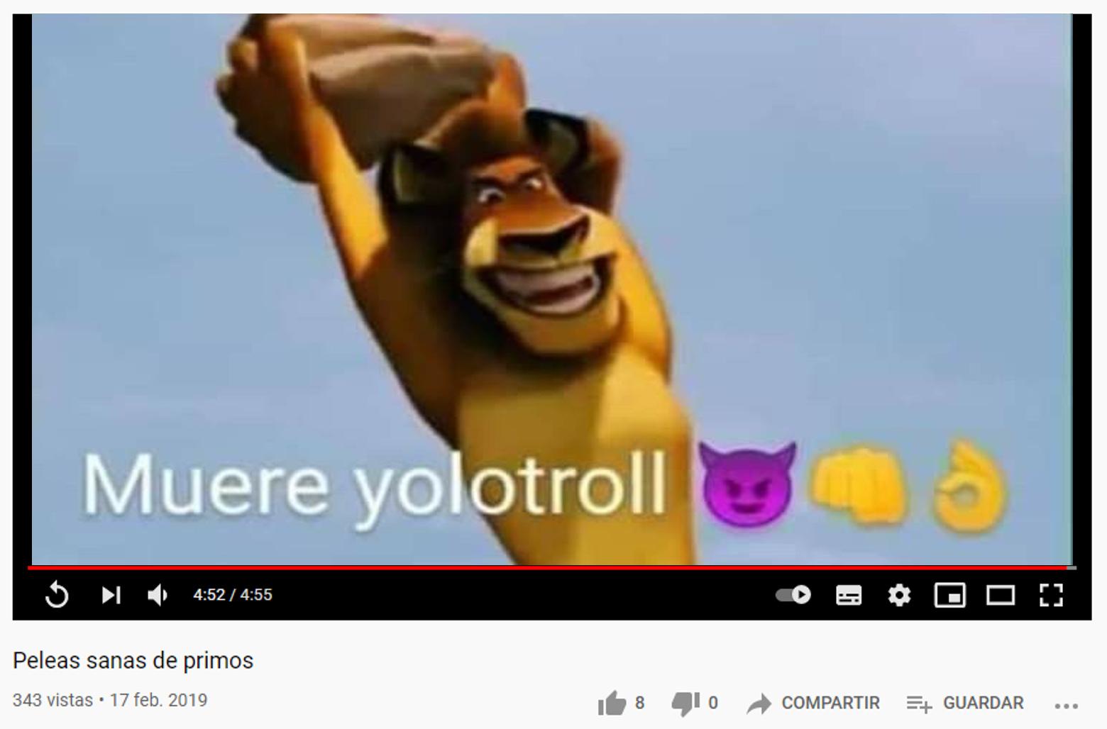 Returbio el video - meme