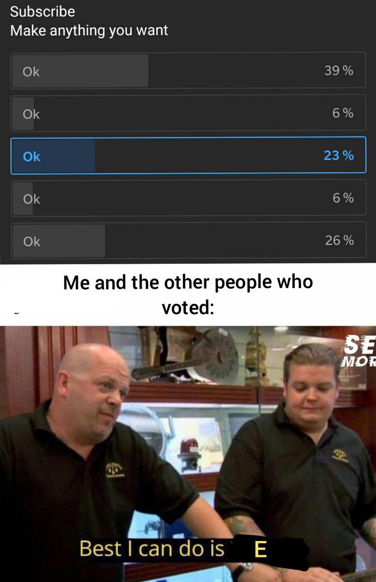 Ah yes, E - meme