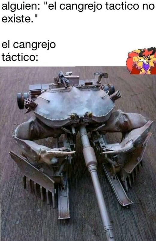 Cangrejo táctico - meme