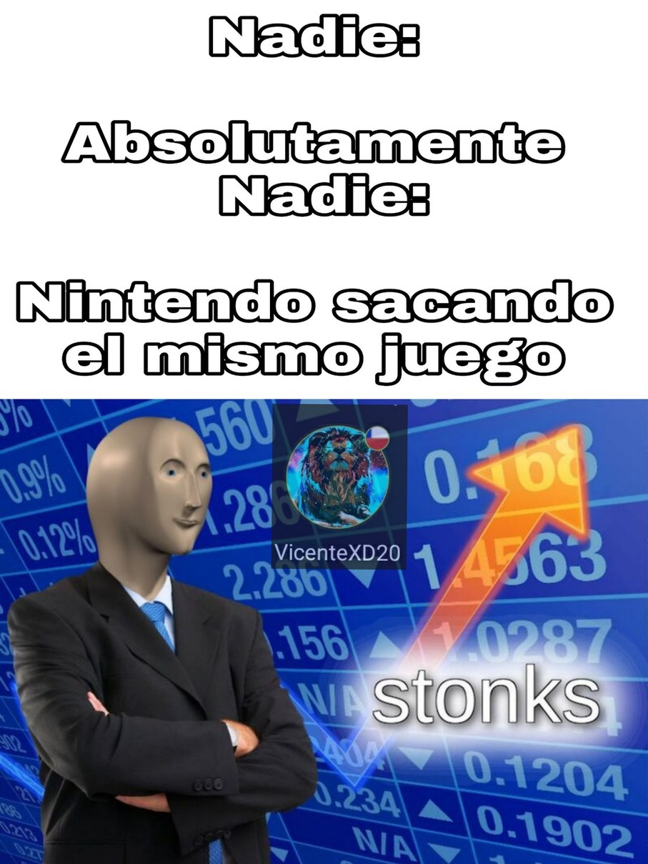 Nintendo XD - meme