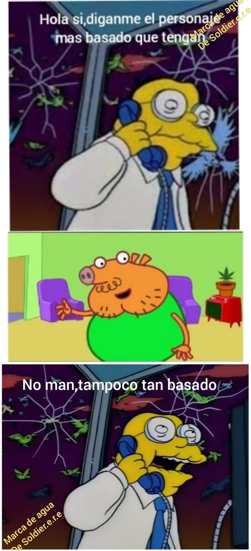 Papa chupa pig tiene mucha razon - meme