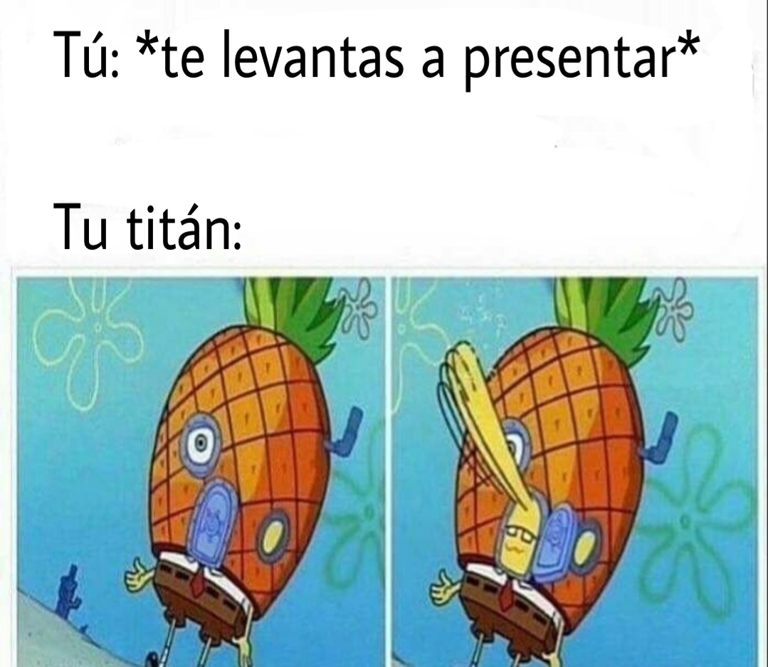 soy titán - meme
