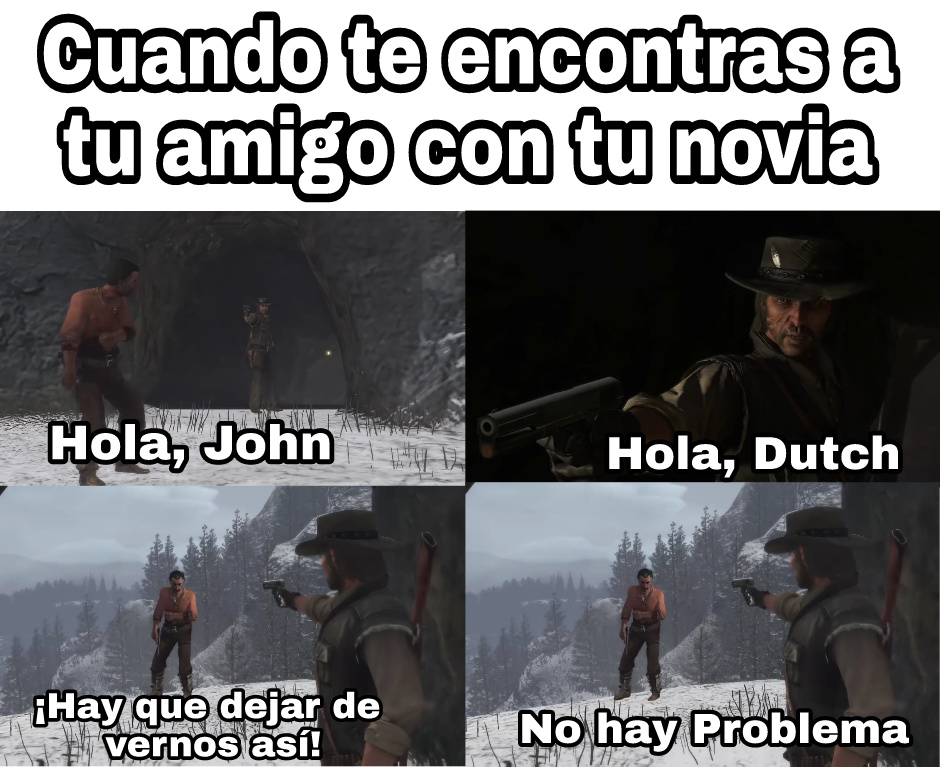 maldita sea Dutch - meme
