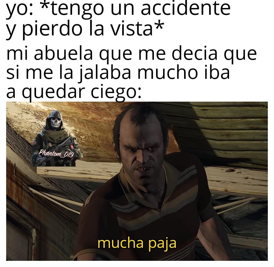 El titulo dice que se perdió en una expedición a Perú - meme