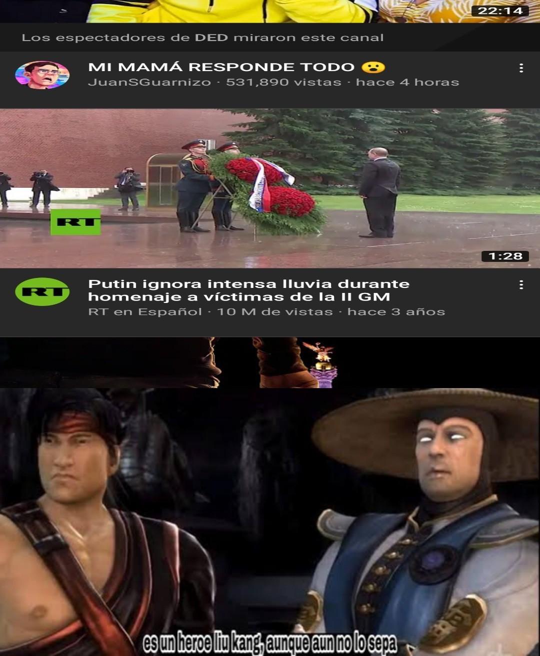 Y si restablecemos la unión soviética - meme