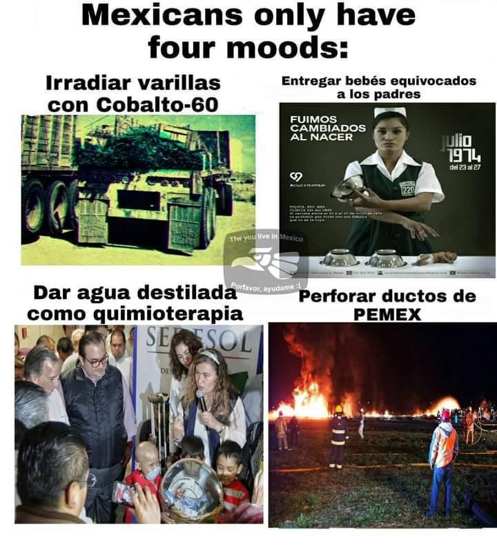 Moods = estados de ánimo. - meme