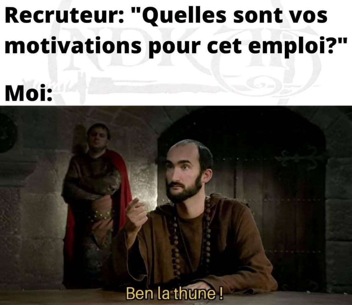 La seule motivation - meme