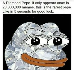 You are so lucky - meme