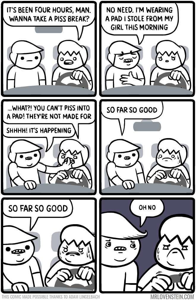that's too much liquid - meme