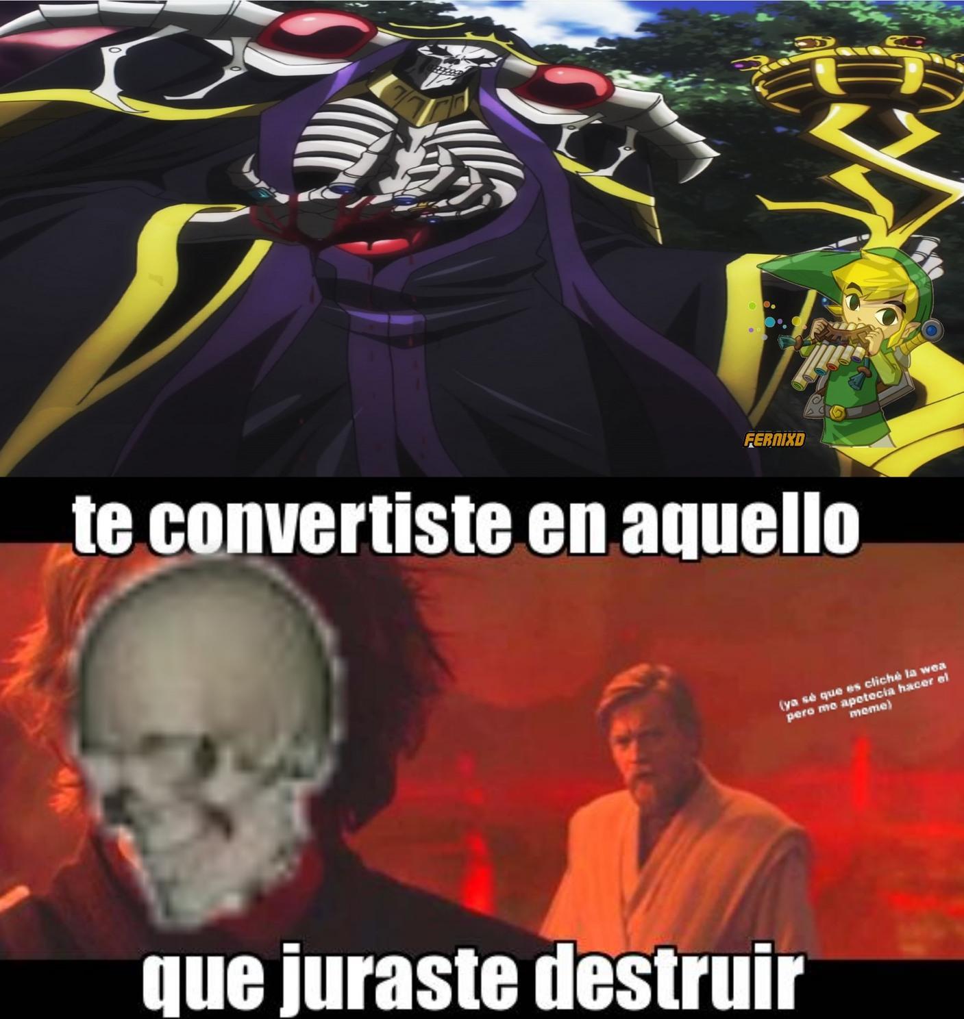 Anime: Overlord - meme
