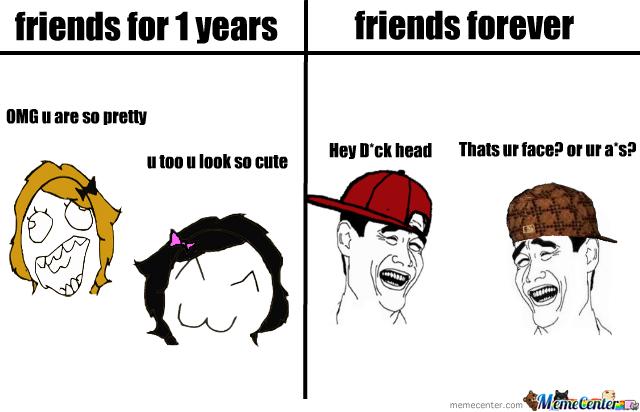 Friends Nowadays - meme