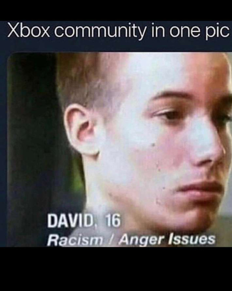 I thought Xbox players were giey - meme