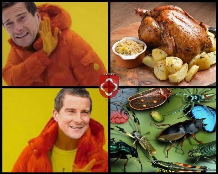 """""""É um alimento rico em proteínas"""" - meme"""