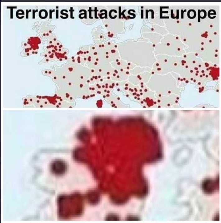 there were (and sorta still are) too many terrorist organizations for such a small country - meme