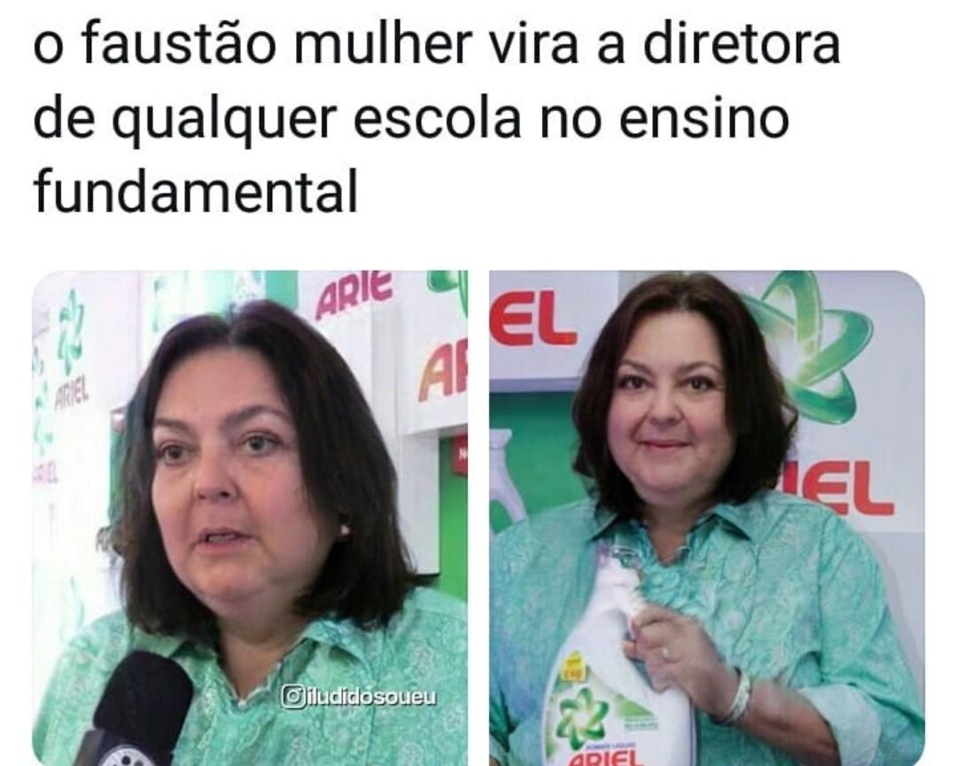 Tia Faustina - meme