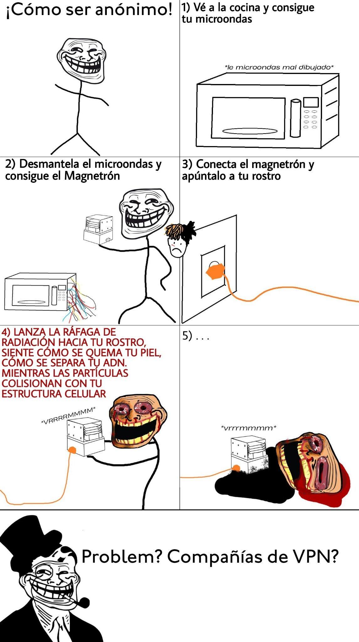 Anonimato - meme