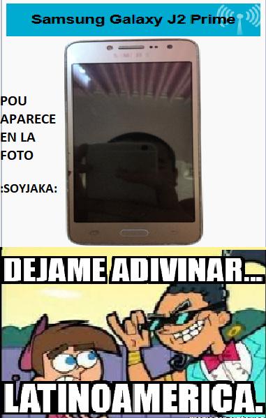 POU APARECE EN LA FOTO!!! :SOYJAKA: - meme