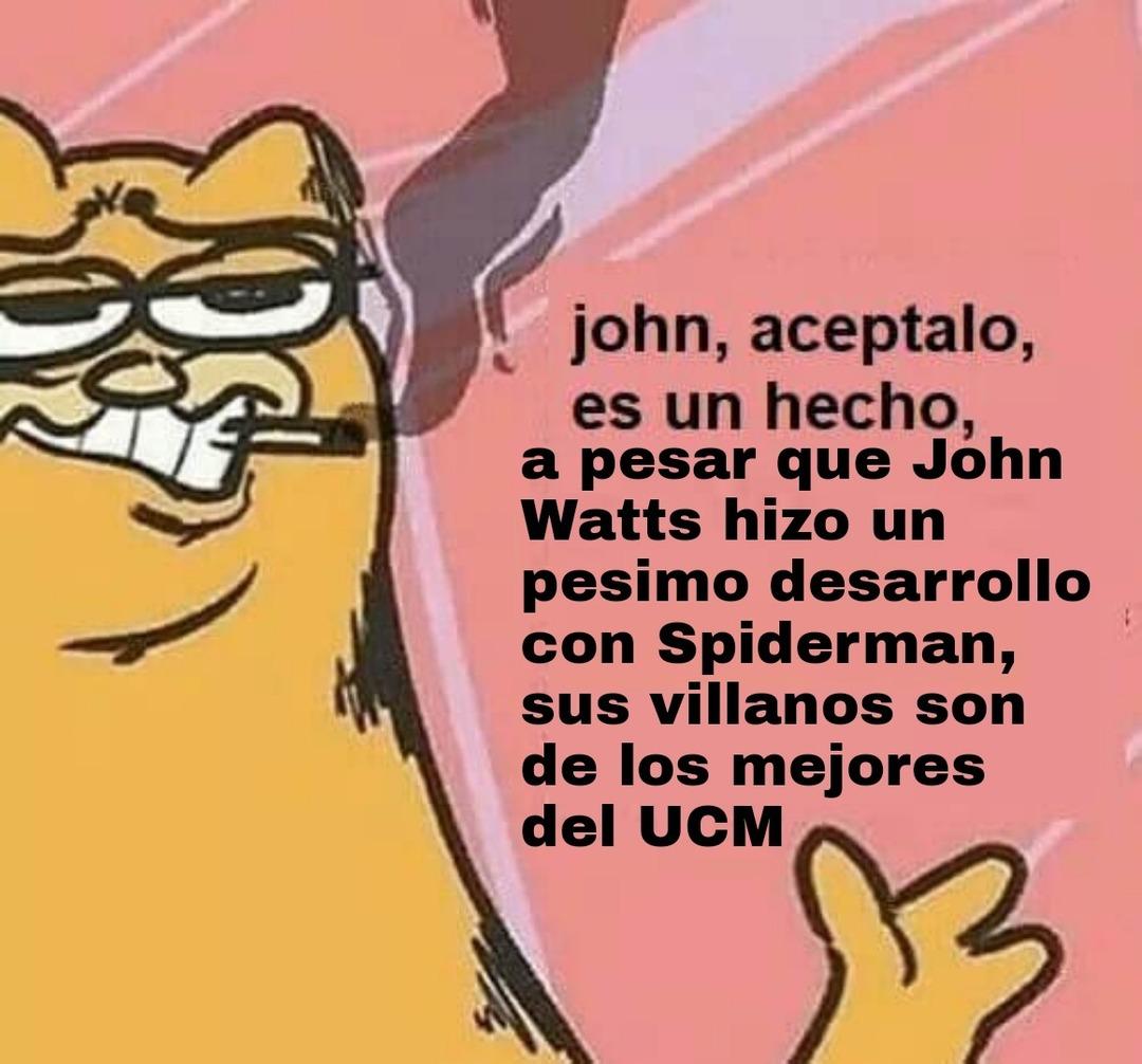 Hay que admitir que Buitre y Mysterio salieron geniales - meme