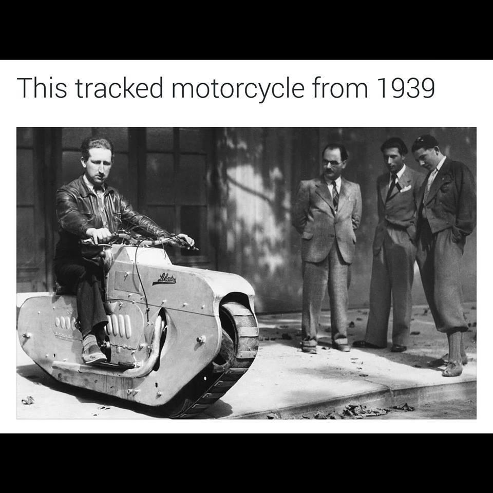 1939 motorcycle - meme