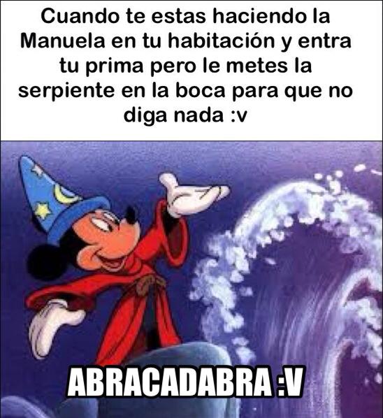 Abracadabra - meme