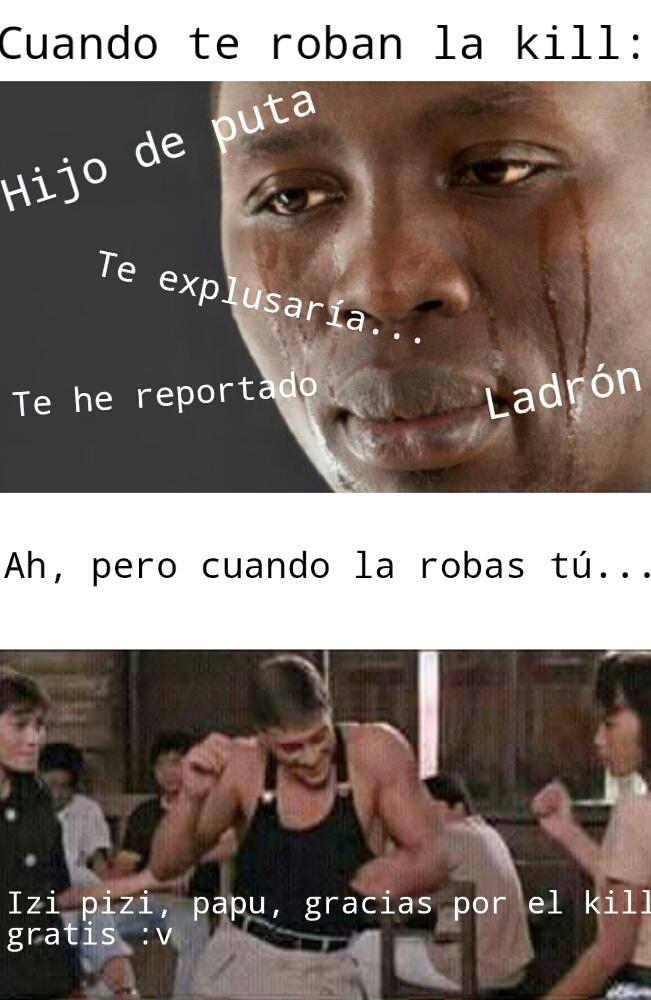 Robar kills es un delito (Original) - meme