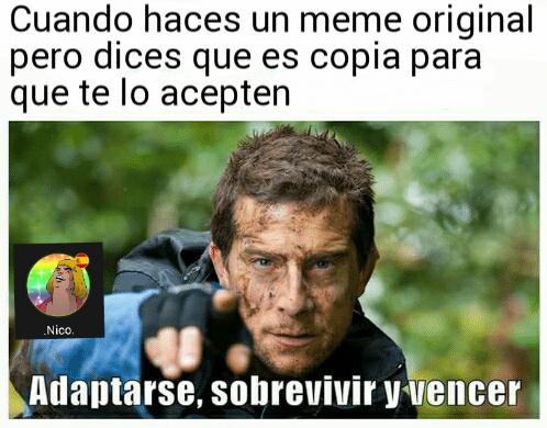 Copia (͡° ͜ʖ ͡°) - meme