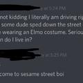 Elmo you mother fucker
