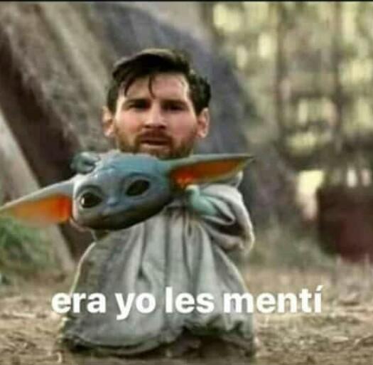 Messi chikito - meme