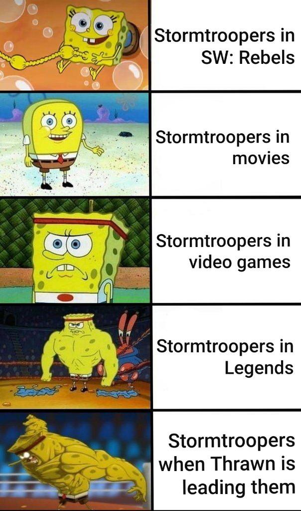 Thrawn is OP - meme