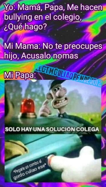 La única solución - meme