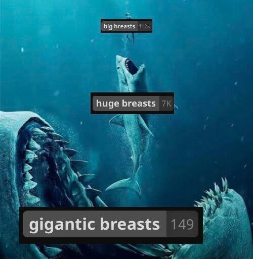 There's always a bigger rack - meme