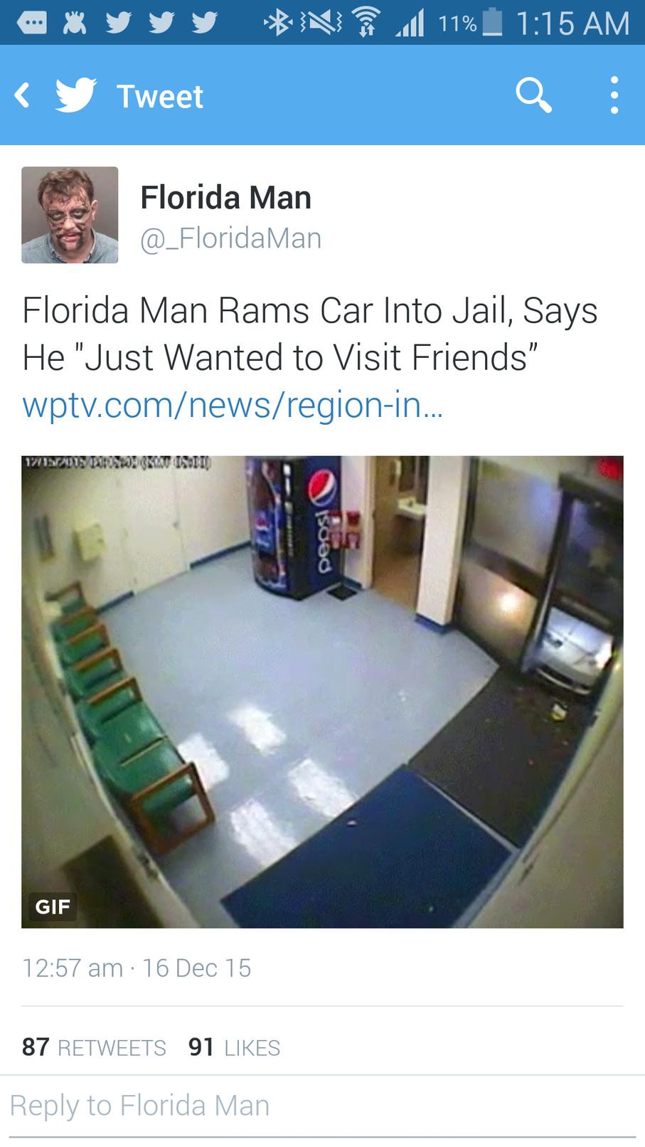5th comment is florida man's friend... - meme