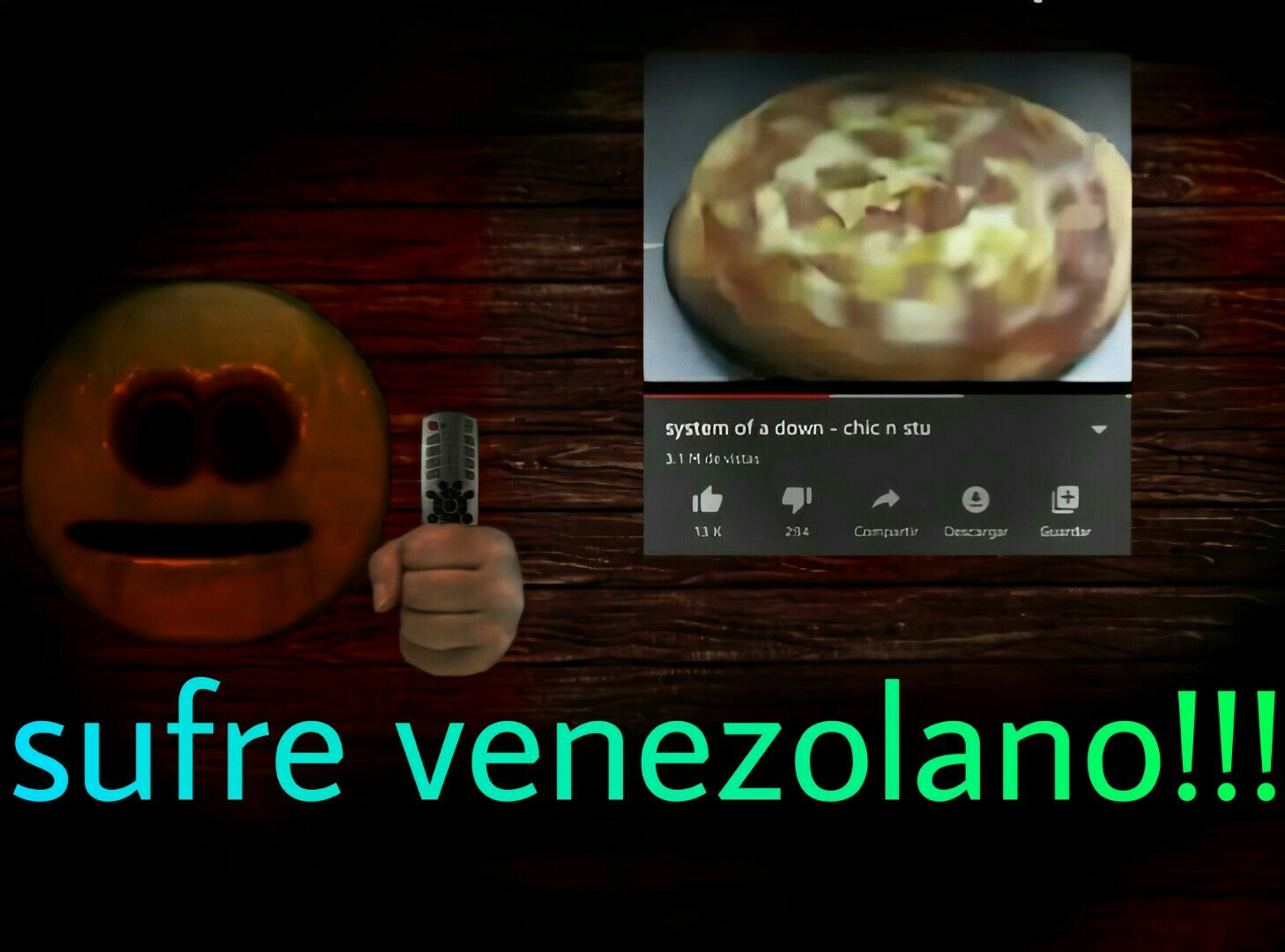 Sufre venezolano!!! - meme