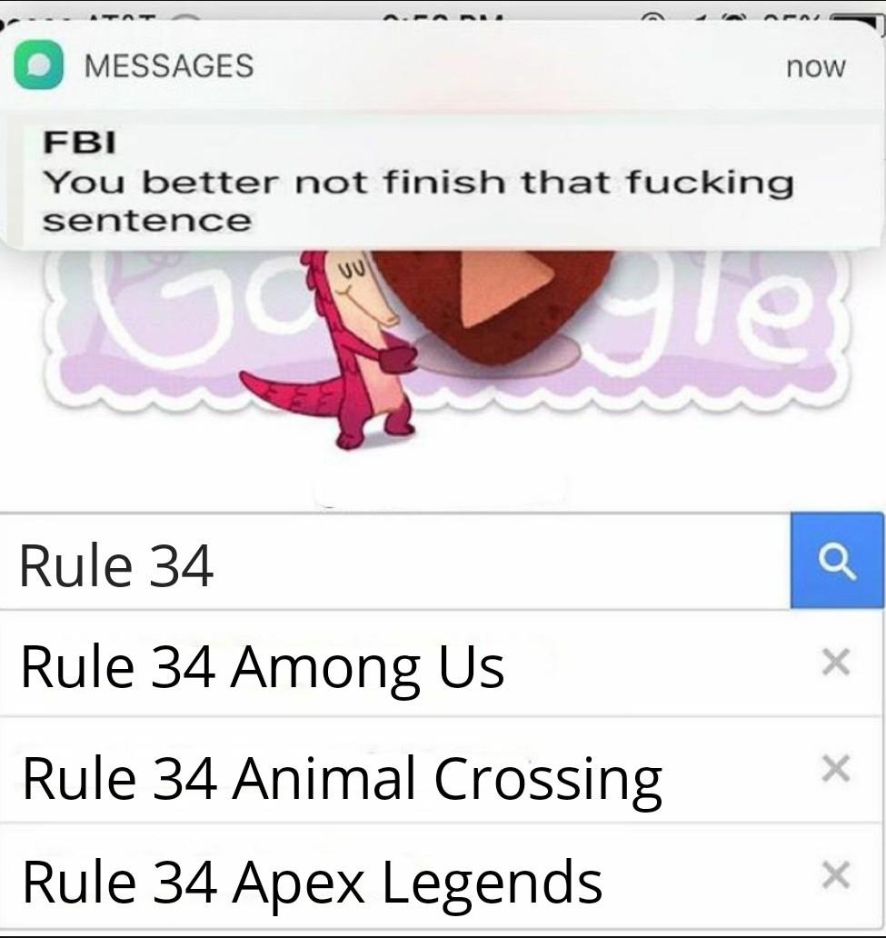 Rule 34 *shudders* - meme
